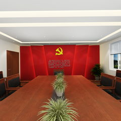 龙池中学丨党员活动室